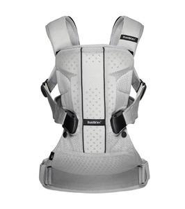 BABYBJORN ONE AIR - nosidełko ergonomiczne, srebrny - 2828254808