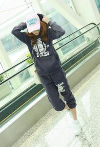 Czarny dres damski Japan Style D3130 - 1749607110