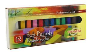 Pastele suche Titanum 12 kolorów - 2835881947
