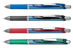 Pióro kulkowe Pentel EnerGel BL77 0,7mm 4 kolory - 2852464328