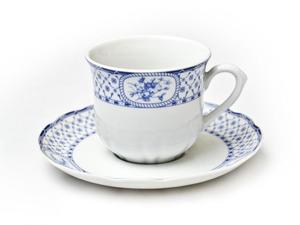 Zestaw porcelanowy Rose - filiżanka i talerzyk - 6 szt. Thun 1794 - 2825211915