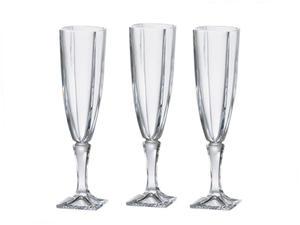 "Kieliszki do szampana ""Arezzo"" - 140 ml Bohemia - 2825211876"