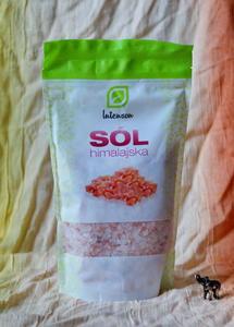 Sól himalajska najzdrowsza! 84 mineraly (gruba, 500g) - 2863510688