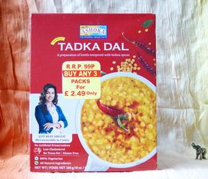 Ashoka Tadka Dal - soczewica w gęstym, aromatycznym sosie - 2822753135