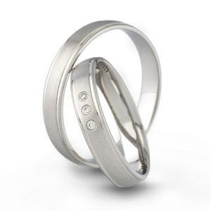 Złote obrączki ślubne AMARE LOVE A681 - 2824437550