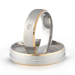 Złote obrączki ślubne AMARE LOVE A683 - 2824437552