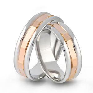 Złote obrączki ślubne AMARE LOVE A684 - 2824437553