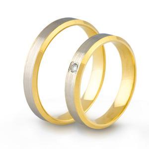 Złote obrączki ślubne AMARE LOVE A691/4 - 2824437560