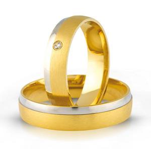Złote obrączki ślubne AMARE LOVE A692 - 2824437561