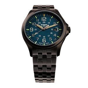 Traser Officer Pro GunMetal Blue - 2885222779