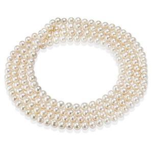 naszyjnik perły ,srebro 925