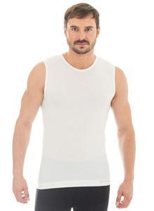 7ad0817355c3ea Brubeck wełniana koszulka męska Comfort Wool SL10160 rozmiar XXL -  2850916893