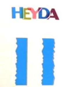 Nożyczki ozdobne Heyda - 04 Nico x1