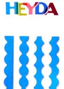 Nożyczki ozdobne Heyda - 03 Mario x1