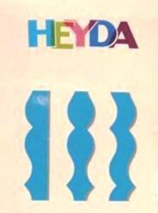 Nożyczki ozdobne Heyda - 14 Lisa x1