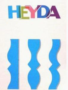 Nożyczki ozdobne Heyda - 07 Mona x1
