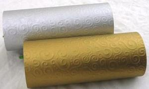 Karton A4 220g Heyda tłoczony Milano złoty x1 - 2824961171