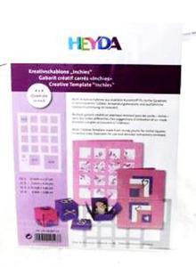 Szablon Heyda - do techniki 3D x1