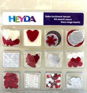 Zestaw dekoracyjny Heyda Walentynki x1 - 2824961188