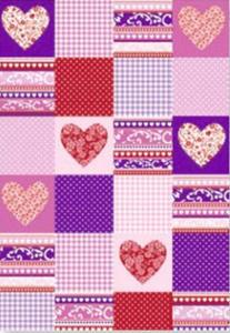 Karton B2 300g Heyda Sweet Home serca róż x1 - 2824961190