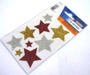 Naklejki HERMA Magic 6528 gwiazdy brokatowe x1