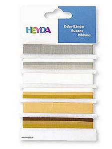 Wstążki tasiemki Heyda Elegant 1mb x6