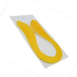 Paski do quillingu żółte x200