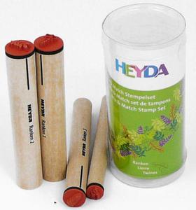 Stemple Heyda - zestaw Liście 4e x1