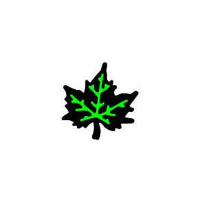 Dziurkacz tnąco-tłoczący - 001 liść klonu x1 - 2824961739