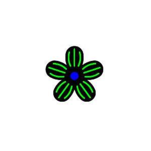 Dziurkacz tnąco-tłoczący - 006 kwiat 3 x1