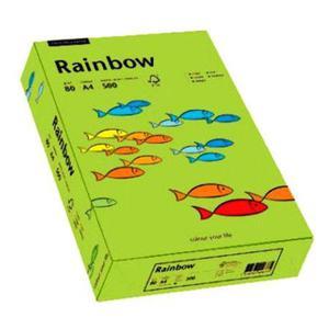 Rainbow A4 80g 74 zielony x500 - 2863967322