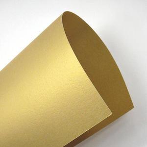 Majestic A4 250g Luxus Real Gold/złoto x10
