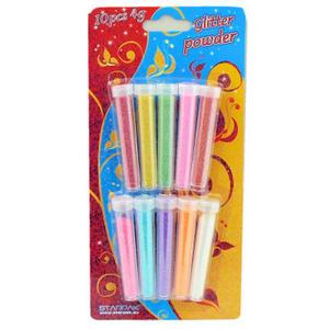 Brokat sypki Starpak kolory pastelowe 4g x10 - 2846303353