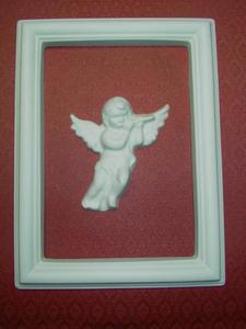 Forma do odlewów gipsowych B-F5-9 ramka anioł x1