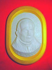 Forma do odlewów gipsowych B-D-3 Jan Paweł II x1