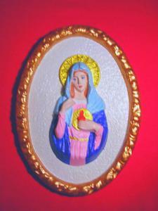 Forma do odlewów gipsowych B-D-5 Madonna x1 - 2824961866
