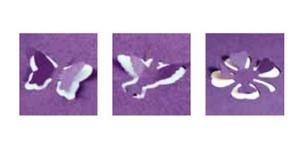 Dziurkacz ozdobny Heyda 3D 1,5cm - 48 motylek x1