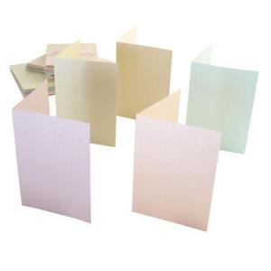 Zestaw kopert i kart A6 Anita's perłowe pastel x50