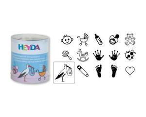 Stemple Heyda - zestaw Baby 15e x1 - 2824961936