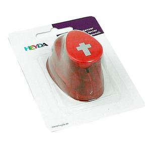 Dziurkacz ozdobny Heyda 1,5cm - 45 krzyżyk x1 - 2824962011