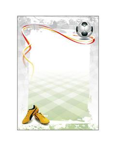 Dyplom A4 170g Football x25