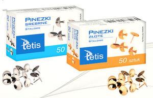 Pinezki Tetis złote x50 - 2824962178