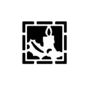 Dziurkacz tnąco-tłoczący - 001 świeczka w ramce x1