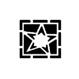 Dziurkacz tnąco-tłoczący - 002 gwiazdka w ramce x1