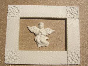 Forma do odlewów gipsowych B-F5-33 ramka+anioł x1