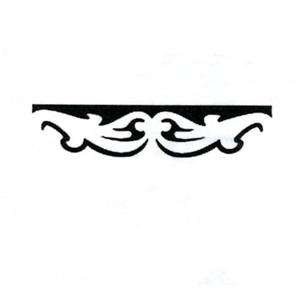 Dziurkacz ozdobny brzegowy - 605 014 elegancja x1