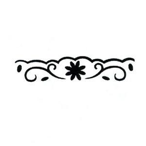 Dziurkacz ozdobny brzegowy - 605 013 kwiatki x1