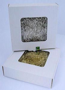 Mgiełka włosy anielskie 30g w pudełku - srebrna x1 - 2858767815