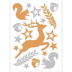 Naklejki HERMA Magic 3729 jelonek i wiewiórki x1