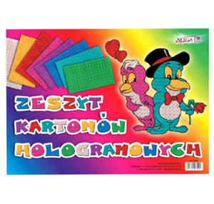 Zeszyt kartonów holograficznych B4 Aliga x1 - 2824962502